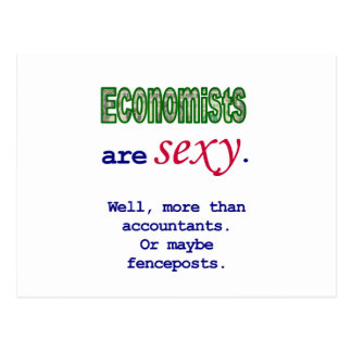 Economists Are Sexy Postcard