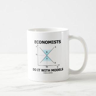 Economists Do It With Models (Economics Humor) Classic White Coffee Mug