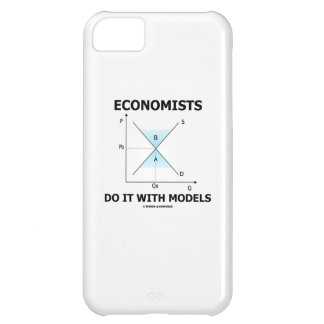 Economists Do It With Models (Supply Demand Curve) iPhone 5C Cover