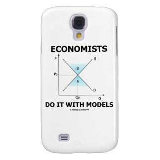 Economists Do It With Models (Supply Demand Curve) Samsung S4 Case