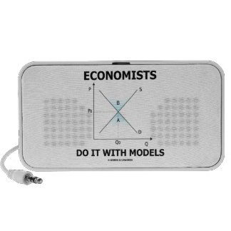 Economists Do It With Models (Supply Demand Curve) Travel Speakers