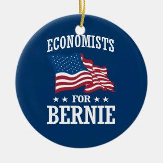 ECONOMISTS FOR BERNIE SANDERS CERAMIC ORNAMENT