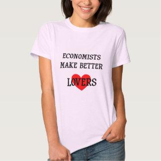 Economists Make Better Lovers Tee Shirt