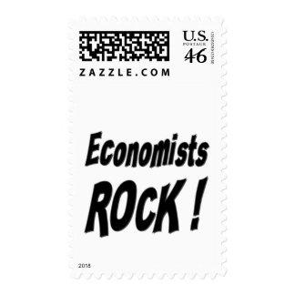 Economists Rock ! Postage Stamp