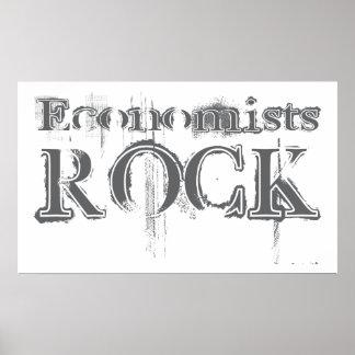 Economists Rock Poster