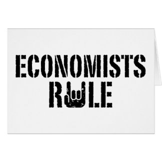 Economists Rule Card