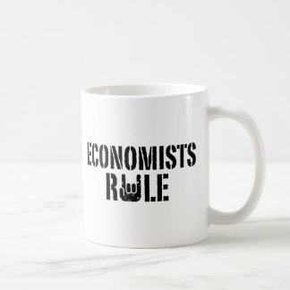 Economists Rule Coffee Mug
