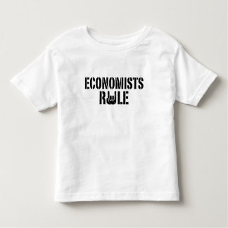 Economists Rule Toddler T-shirt