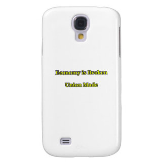 Economy is Broken Union Made The MUSEUM Zazzle Gif Samsung Galaxy S4 Cover