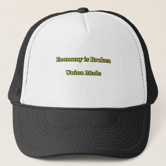 Economy is Broken Union Made The MUSEUM Zazzle Gif Trucker Hat