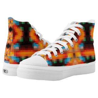 Economy of Whispers High-Top Sneakers
