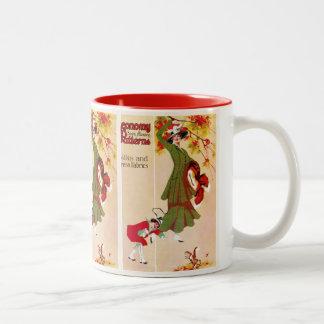 Economy Patterns Two-Tone Coffee Mug