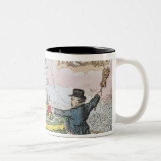 Economy', published by Johnston, London Two-Tone Coffee Mug