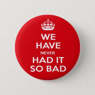 Economy-Recession Pinback Button