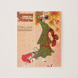 Economy Seam Allowing Patterns Jigsaw Puzzle