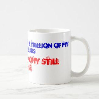 Economy still sucks! coffee mug