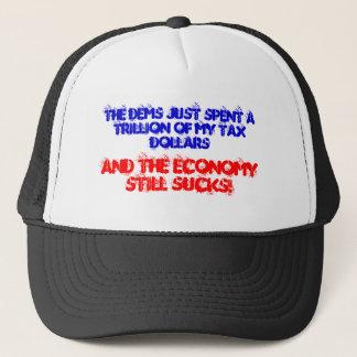 Economy still sucks! trucker hat