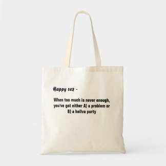 Economy Tote Bag by Happy Colors