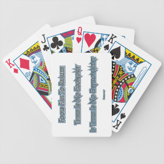 Economy vs Environment Bicycle Playing Cards