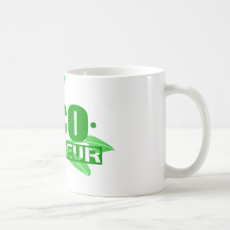 Ecopreneur With Leaves, Branch And Dot Hyphen Coffee Mug