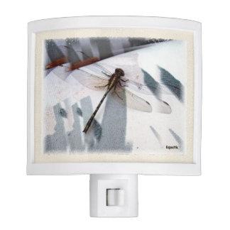Ecos de la libélula luces de noche