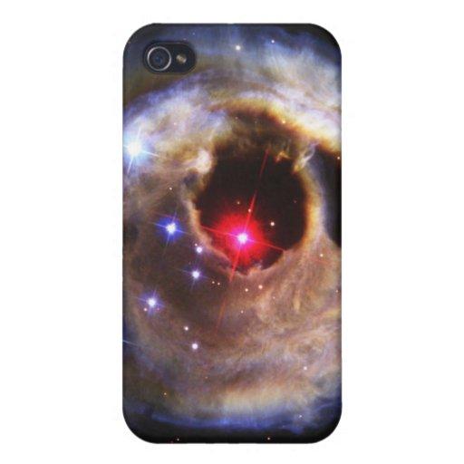 Ecos ligeros de un rojo supergigante iPhone 4 cárcasa