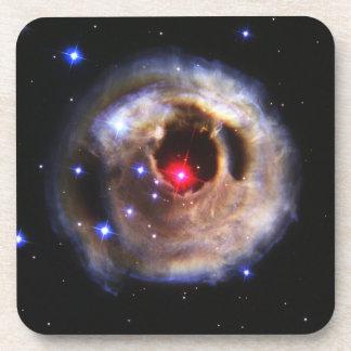 Ecos ligeros de un rojo supergigante posavaso