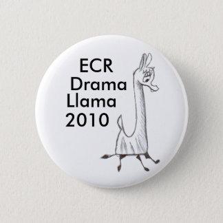 ECR Drama Llama 2010 Pinback Button