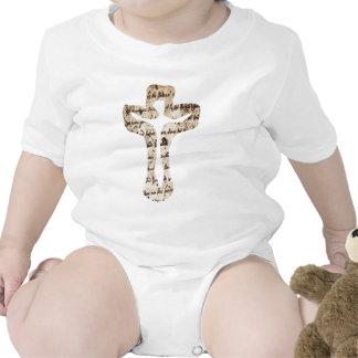 Écriture de los effets del croix del sur de Cristo Traje De Bebé