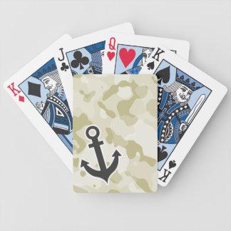 Ecru Camo; Anchor Deck Of Cards