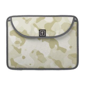Ecru Camo; Camouflage Sleeve For MacBook Pro
