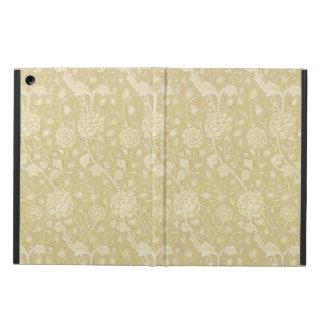 Ecru Floral Pattern by William Morris Ipad cases