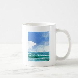 Ecstacy Ocean Beach Waves Surf Art Gifts Coffee Mug