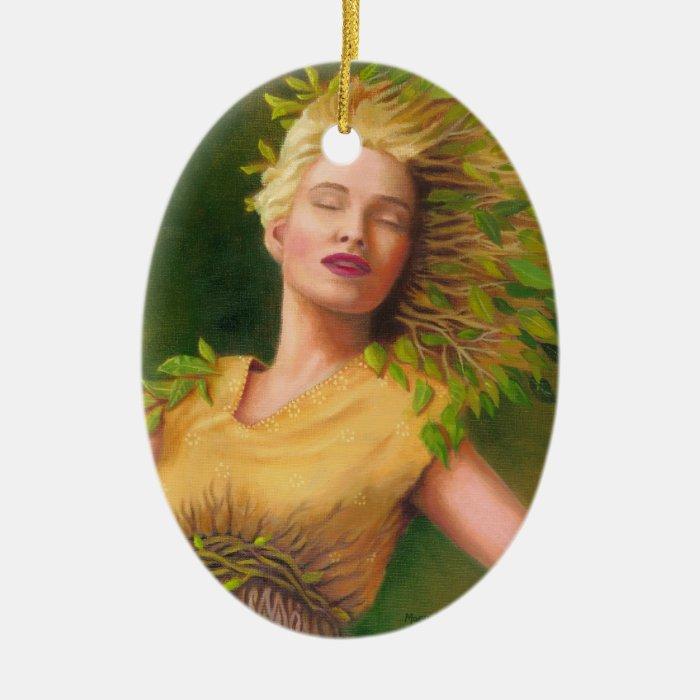 """Ecstasy of Daphne"" Goddess Ornament / Pendant"