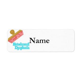 Ectodermal Dysphasia Label