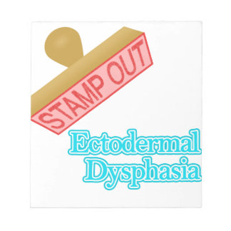 Ectodermal Dysphasia Notepad