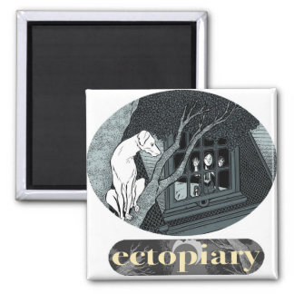 Ectopiary Refrigerator Magnet