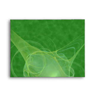 Ectoplasm Abstract Art Envelope