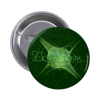 Ectoplasm Abstract Art Pinback Button