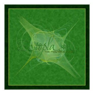Ectoplasm Abstract Art Posters