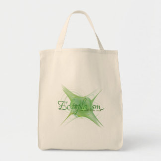 Ectoplasm Abstract Art Tote Bag