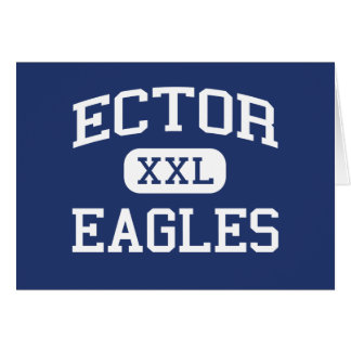 Ector - Eagles - Junior High School - Odessa Texas Card
