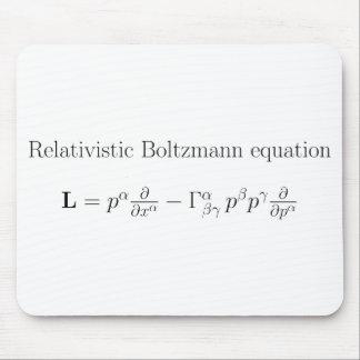 Ecuación de Boltzmann relativista Alfombrilla De Ratones