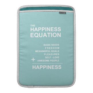 Ecuación de la felicidad funda macbook air