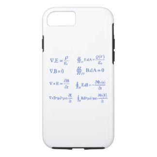 ecuación de la física del maxwell funda iPhone 7