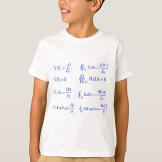 ecuación de la física del maxwell playera
