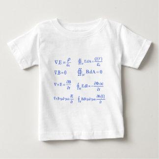 ecuación de la física del maxwell playera de bebé