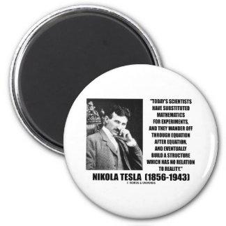 Ecuación de los científicos de Nikola Tesla ningun Imán Redondo 5 Cm