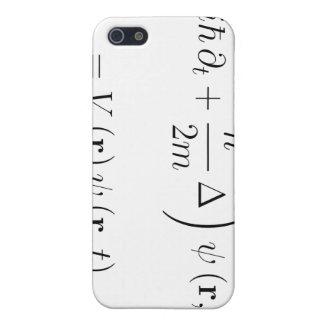Ecuación de onda de Schrodinger iPhone 5 Carcasas