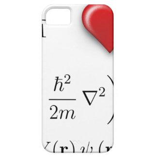 Ecuación de Schrodinger del corazón I iPhone 5 Funda